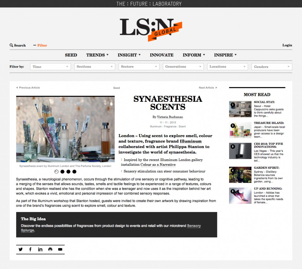 LSN Synaesthesia